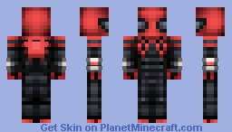 Superior Spider-Man(Reshaded!!!) Minecraft Skin
