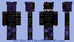 The Joy Of Creation: Ignited Bonnie v3! Minecraft Skin