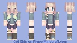 hiiiiiatus Minecraft Skin