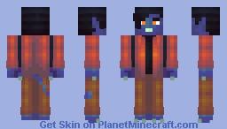 nightcrawler from the x-men apocalypse i guess Minecraft Skin