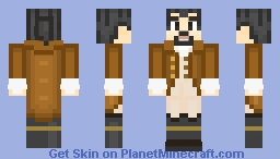 Alexander Hamilton (Ponytail) || Hamilton the Musical Minecraft Skin