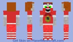 Sister Location - Baby Minecraft Skin