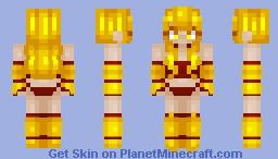 Blazette Minecraft Skin