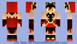 BoBoiBoy Blaze Minecraft Skin
