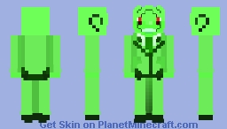 Mr...Green? - True Form Minecraft Skin