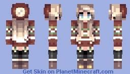 Christmas spirit Minecraft Skin