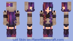 Inspired by Oceanelle | 𝒸𝑜𝓃𝒻𝓁𝒾𝒸𝓉𝑒𝒹 Minecraft Skin