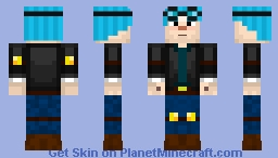 Dantdm Minecraft Story Mode Ep 6 Minecraft Skin