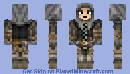 Assassin Class ( Dark Souls 3 ) Minecraft Skin