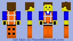 Emmet (The LEGO Movie) Minecraft