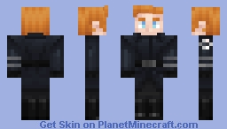 General Hux without coat/cap Minecraft Skin