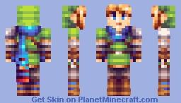 Link - Hyrule Warriors Minecraft Skin