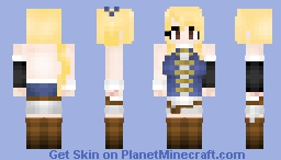 Fairy Tail Timeskip: Lucy Heartfilia (ルーシィ・ハートフィリア) 200 SUBS!! Minecraft Skin