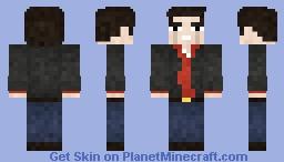 Martin Riggs Minecraft Skin