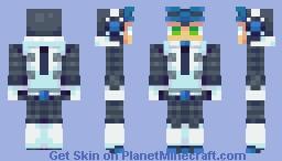 Beck (Mighty No. 9) Minecraft Skin