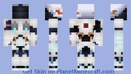 Nerox as Cyborg (1.9 update) Minecraft Skin