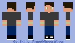 NGSFonzi Minecraft Skin