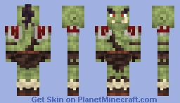 Orc [World of Warcraft] [Possible Comeback?] [Request] Minecraft Skin