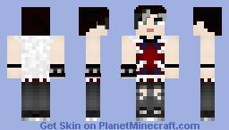 Skin trade w/ Intergalactiic Minecraft Skin