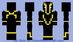 Gold Assassin Minecraft Skin
