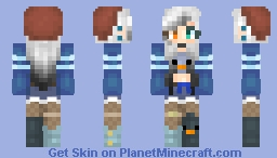 Idek Maybe a new persona? Minecraft Skin