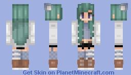 🎀 Mermaid Hair 🎀 Minecraft Skin