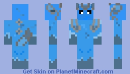 Glaceon Minecraft Skin