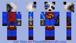 Panda Cyborg Superman for friend