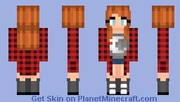Plaid Moon Minecraft Skin
