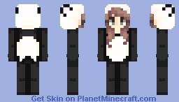 yѳѳℓi // Panda onesie ♡ Minecraft Skin