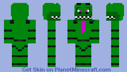 Tator The Waiter Gator Minecraft Skin