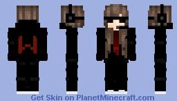 ♣ Agent girl ♣ Minecraft Skin
