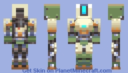 Bastion- Overwatch Minecraft Skin
