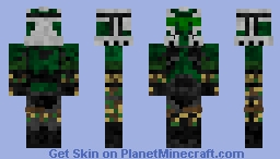 Commander Gree STAR WARS III ORDER 66 Minecraft
