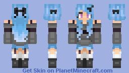 Blue Supremecy Minecraft Skin
