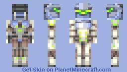 Overwatch- Genji Minecraft Skin