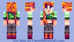 Leah - Stardew Valley Minecraft Skin