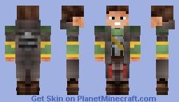 Mercenary Gear - Fallout Shelter Minecraft Skin