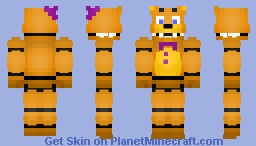Fredbear [New] Minecraft Skin