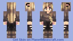 bronzed babe Minecraft Skin