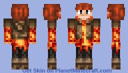 Autumn Fire Minecraft Skin