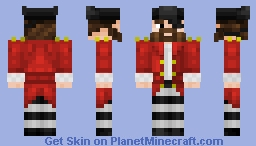 Pirate Captain Minecraft Skin
