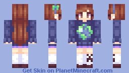 Mabel Pines [ Over 15 Sweaters! ] (RESHADED) Minecraft Skin