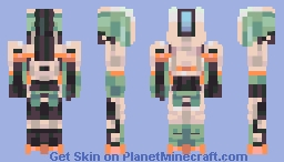 Overwatch - Bastion Minecraft Skin
