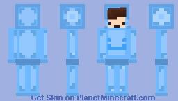 ♥ⓐⓛⓞⓩ♥ - wHEN YOUR FEELING BLUEEEEEE Minecraft Skin
