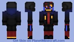 ERROR!Sans Minecraft Skin