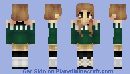 sweater shorts n stockings Minecraft Skin