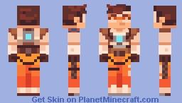 Overwatch - Tracer Minecraft Skin