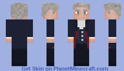Doctor Who - The Twelfth Doctor Minecraft Skin