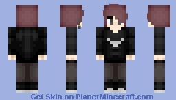 - Cinder - Minecraft Skin